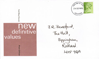 24-Sep-1975 UK First Day Cover