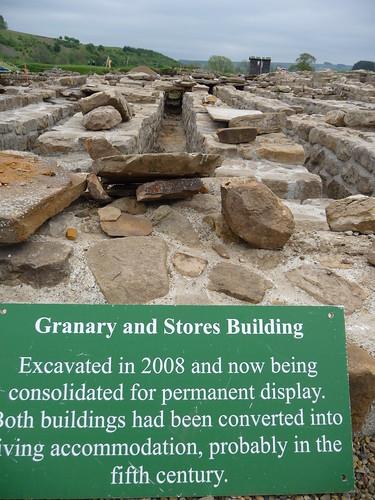 Granary and Stores Building, Vindolanda