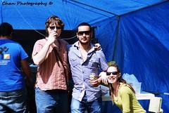 Vania, Felipe y Mónica