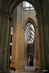Bas-côté de la Cathédrale de Coutances - Manche - Basse Normandie