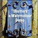 """Shutters"" a watercolour demo"