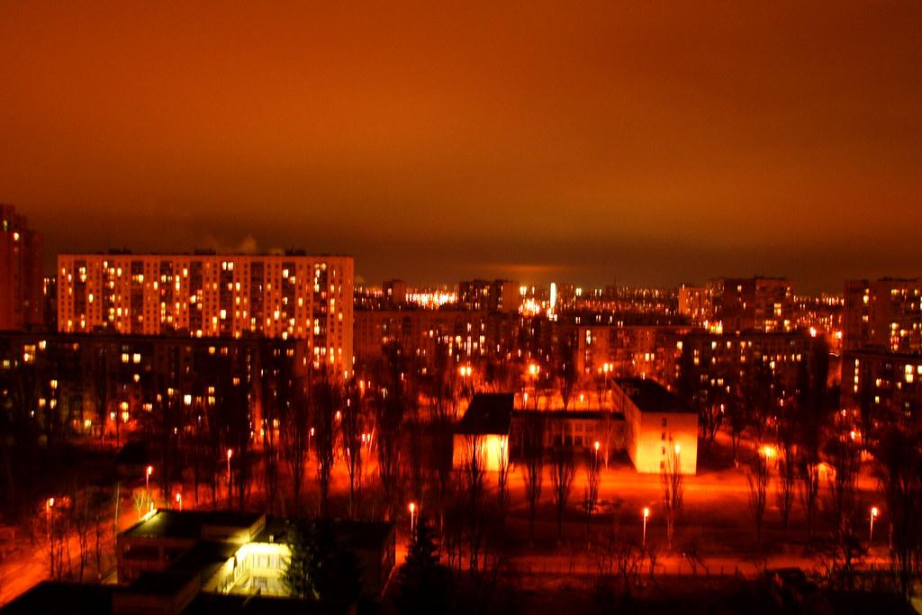 Kiev on Fire