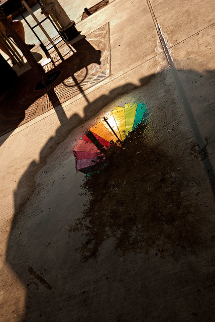 ranbow puddle