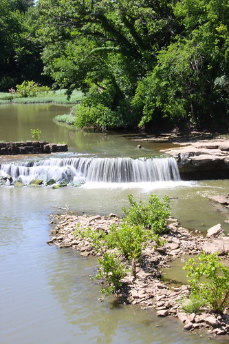 fall water waterfall ks kansas