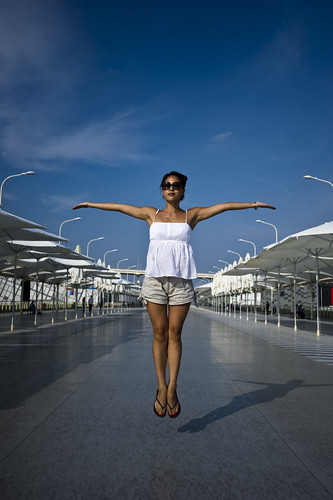 Jumping with Joy - Shanghai Expo