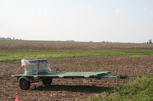 irrigation tank