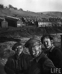 Three Generations of Welsh Coal Miners, by W. Eugene Smith (1950)