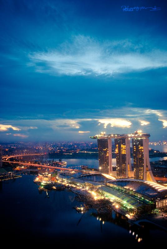 MacRitchie-Stausee, Singapur Sonnenaufgang Sonnenuntergang ...
