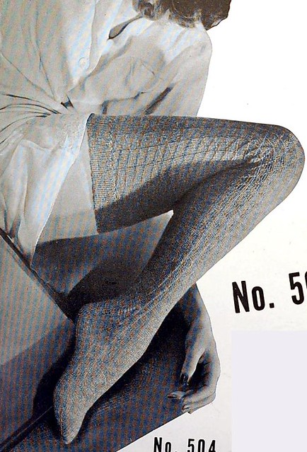 Sexy Knitting Patterns : 1940s sexy thigh high socks knitting pattern Love these th? Flickr - Phot...