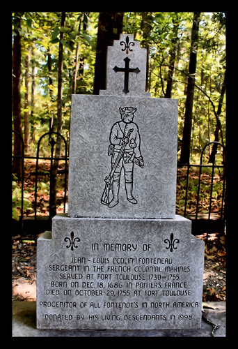 cemetery french memorial alabama marker wetumpka forttoulouse