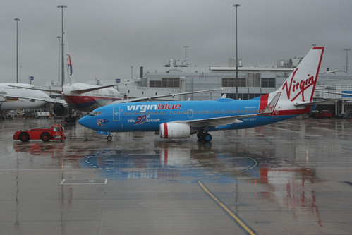 Virgin Blue's 50th aircraft, 737-700 VH-VBY