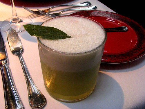 Coca Leaf Sour at Astrid y Gaston in Miraflores, Lima.
