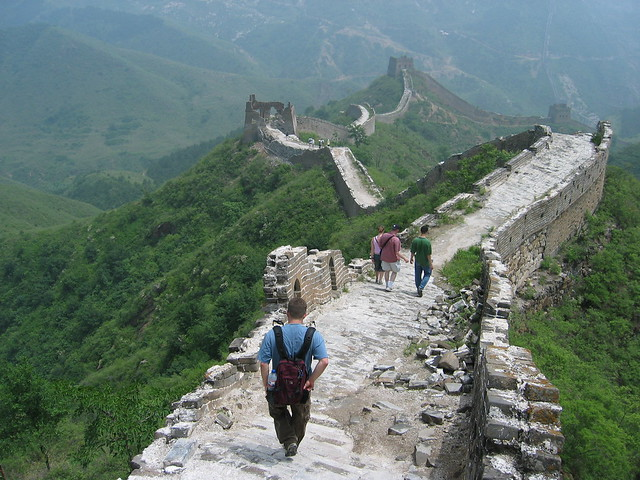 Gran Muralla China en Simatai