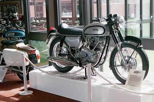 Prototype Norton Twin P10 National Motorcycle Museum UK 1989