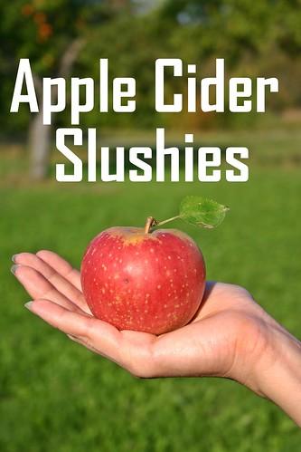 Apple Cider Slushies Recipe