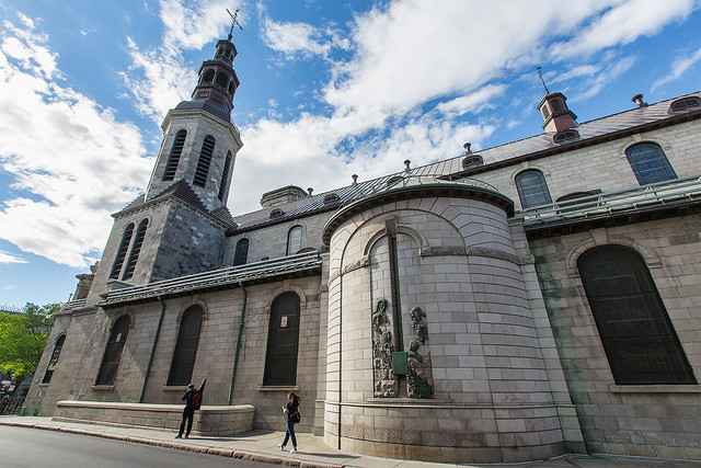 The Cathedral-Basilica of Notre-Dame de Québec