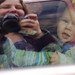 12-27-09 - Noah in the car - Taken by Lynda by Lynda Giddens