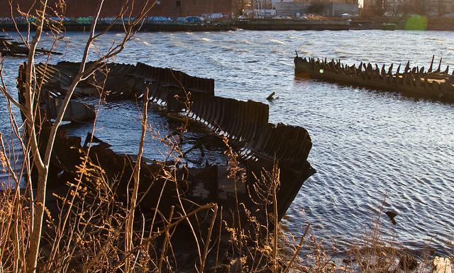 Coney Island Creek Ship Graveyard Flickr Photo Sharing