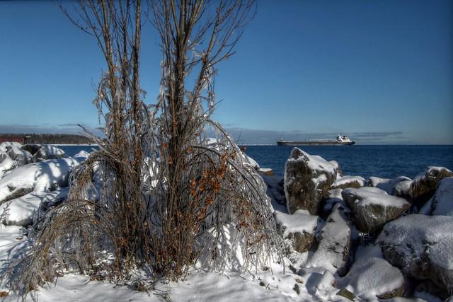 Lakeshore Ice View
