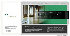 Law Firm Website (Business to Business)