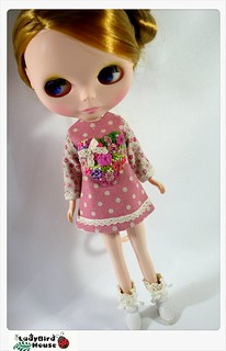 LADYBIRD HOUSE Blythe Outfit Embroidery Dress - U