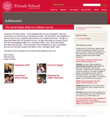 School Website (2006)