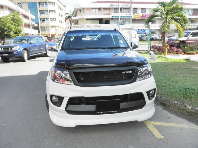 Pimped Out Toyota Hilux At Kolam Plaza I Was Going For