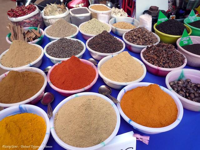 specerijen / spices - Goa - Calangute
