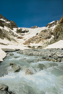 White Glacier (Ecrins National Park - Hautes-Alpes - FRANCE)
