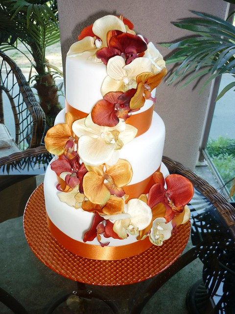 fall wedding cake simple Fake cakes available vancouver bc