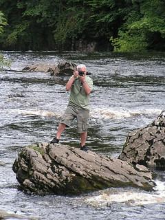 Mick, Aysgarth Falls