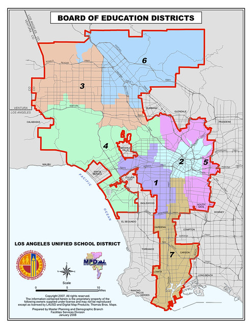 Los Angeles City Council District Map  Flickr  Photo