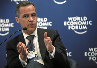 Mark J. Carney - mine's about this big and its fully sustainable
