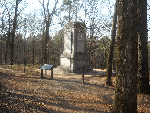 Kennesaw Mountain Battlefield-Illinois Monument