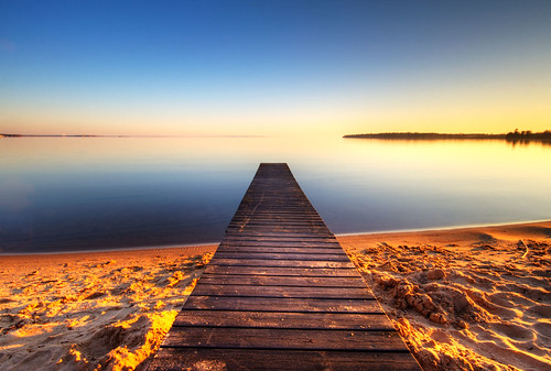 sunset lake beach reflections sweden jetty sverige hdr vättern motala östergötland sigma1020mmf456exdchsm canoneos40d varamo
