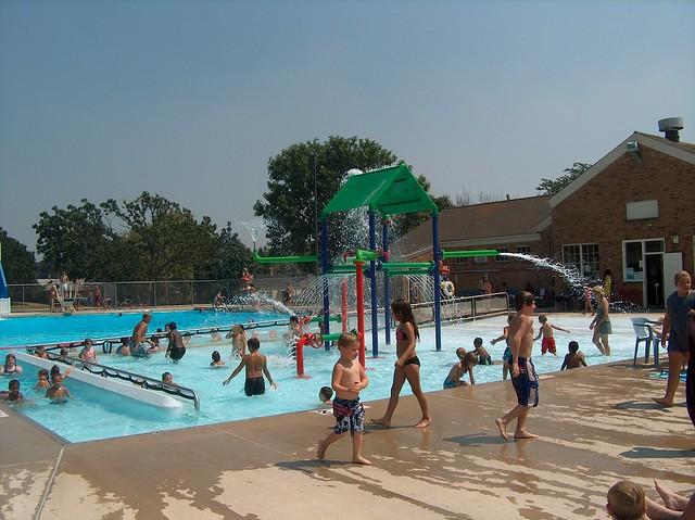 Veteran 39 S Municipal Pool Lasalle Il Swimming Pool Muni Flickr Photo Sharing