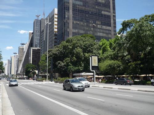 Avenida Paulista from MASP