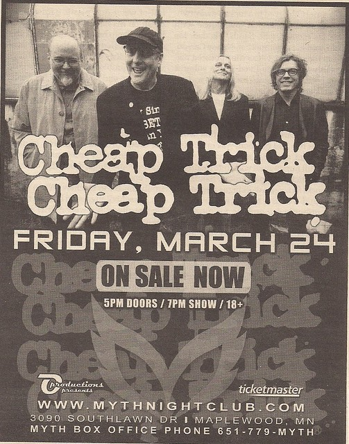 03/24/06 Cheap Trick @ Maplewood, MN (Ad)