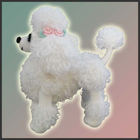 Crocheted French Poodle Pattern Crochet And Knitting