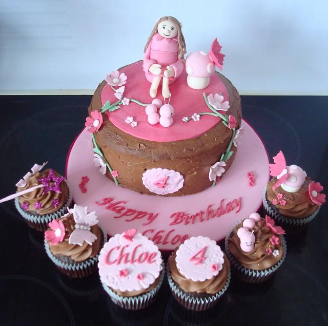 Chocolate Fairy Cake Recipe