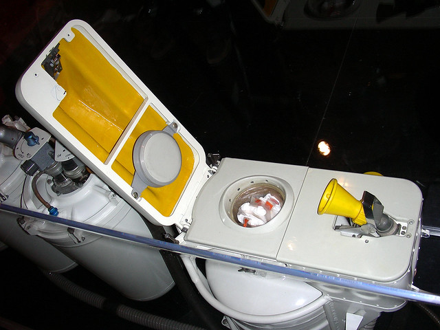astronauts pee toilet - photo #27
