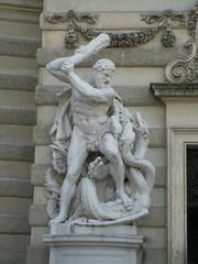 Second labour of Hercules @ Michaelerplatz, Vienna, Austria