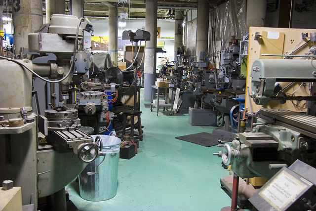 basement machine shop