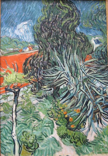 Vincent van gogh dans le jardin du dr gachet auvers fin for Jardin a auvers van gogh