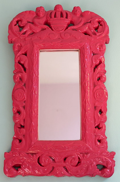 Hot Pink Wall Mirror This Decorative Wall Mirror Will Be
