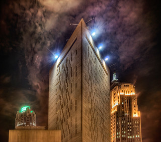 Metropolitan Correctional Center - downtown Chicago hdr
