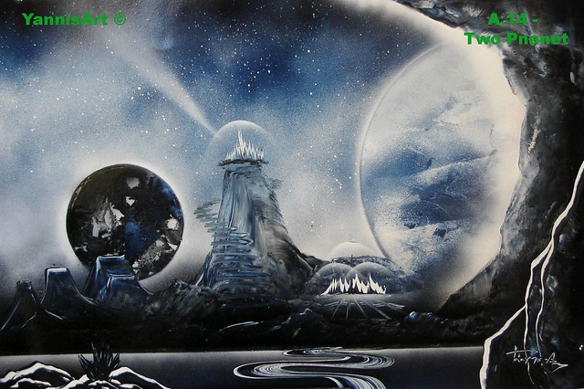 how to paint planets with spray paint quick and easy youtube. Black Bedroom Furniture Sets. Home Design Ideas