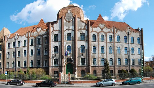 The Beautiful Hungarian Art Nouveau (20) - Teleki Blanka High School, Former Erzsébet Female School