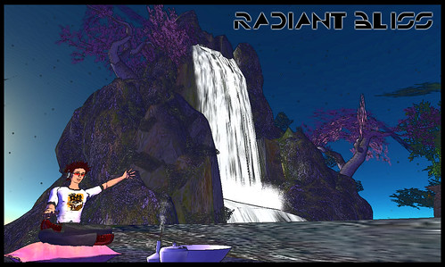 Radiant Bliss Waterfall