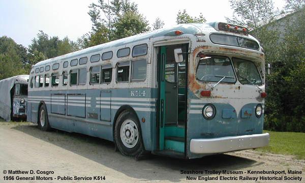Preserved New York City Transit Authority 1950 39 S Era General Motors Tdh Series Old Look